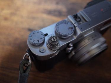 cam-inドクロレリーズボタンをX100Fにつけてみた