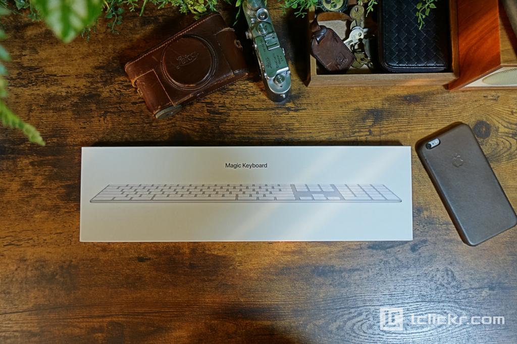 【レビュー】Apple Magic Keyboard テンキー付きの使用感、サイズ感など