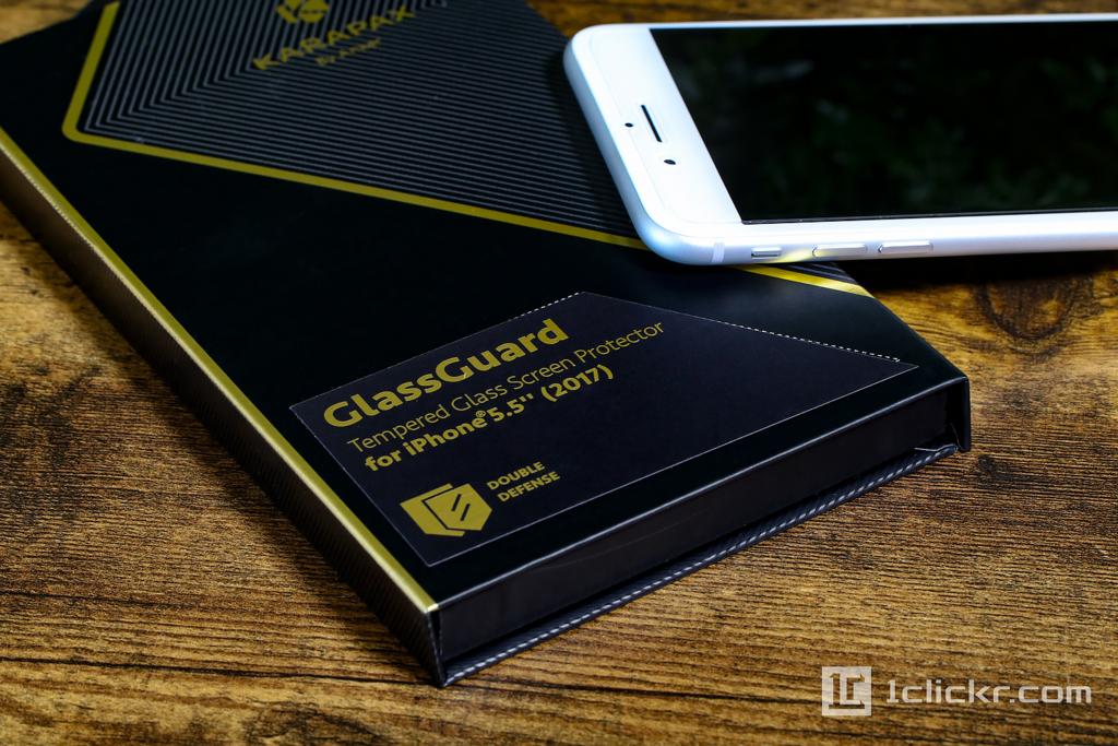 iPhone 8 Plusの液晶保護ガラスフィルム|Anker「KARAPAX GlassGuard」レビューと貼り方