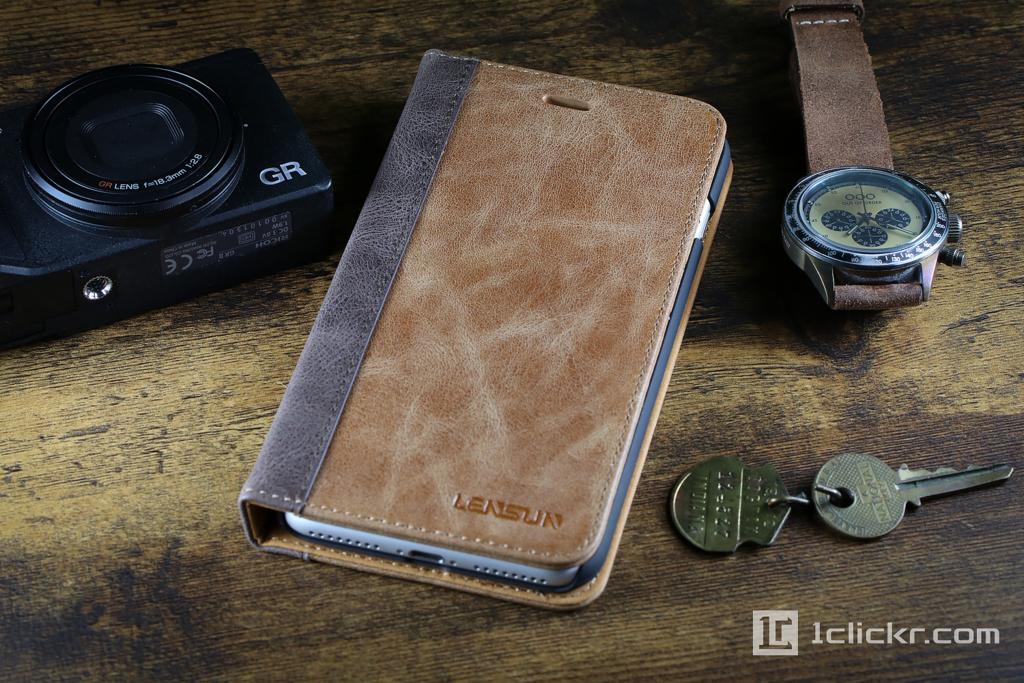 手帳型のiPhone 8ケース|磁石なしフラップなしレザー+高級感ありはこれがおすすめ