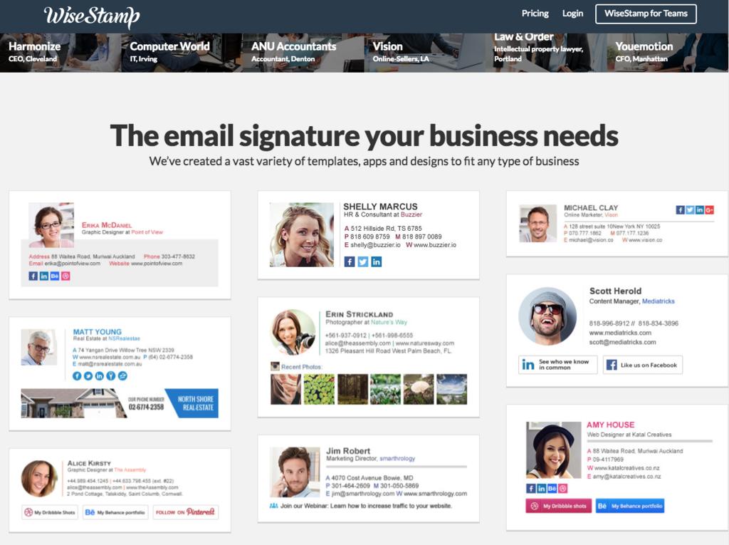 メール署名という化石をマルチメディア対応に進化させる「Wise Stamp」の使い方