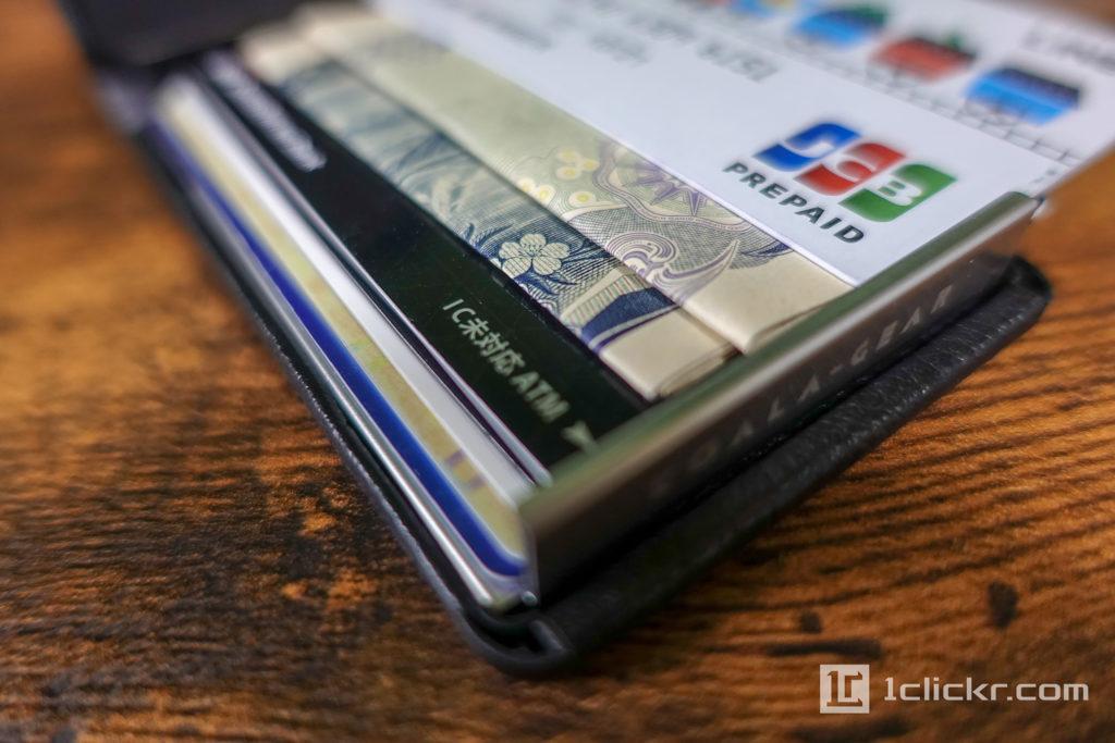 ミニマリスト財布|DJIN [レビュー] 一ヶ月使ってみて感じた良いところ悪いところ