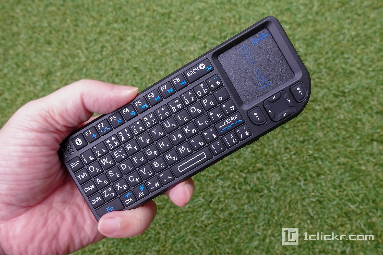 Ewin ワイヤレスミニ日本語配列の変態キーボード をiPhone Xで試す【レビュー】