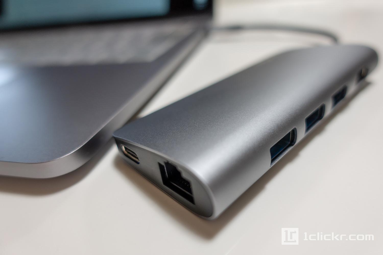 MacBook充電可能USB-Cポート拡張ハブ「EgoIggo QacQoc GN30E」【レビュー】