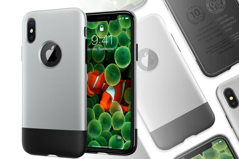 初代iPhoneにインスパイアされたiPhone Xケース「Classic One」がSpigenから限定発売