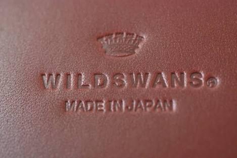WILDSWANS型押しロゴ