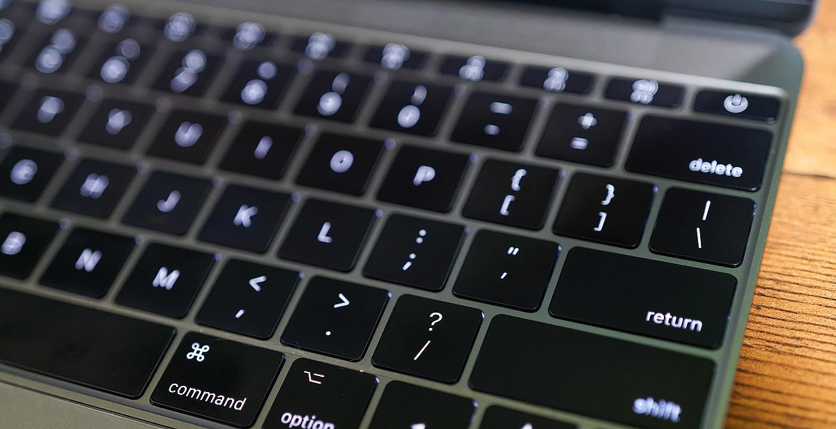 MacBook USキーボード