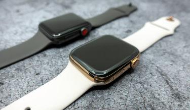 Apple Watch SERIES 3からSERIES 4に買い替えました。