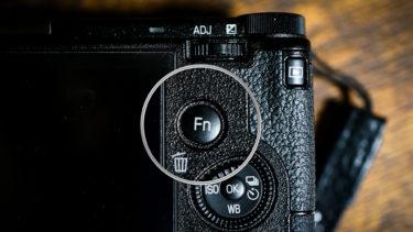 GR III 「Fnカスタムボタン」にクロップ当てれば、GRが3倍楽しめる