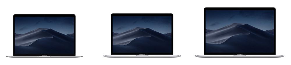 MacBookのないMacノートラインナップ